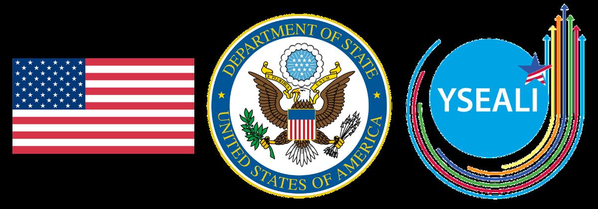 US Flag DOS YSEALI PFP Logos